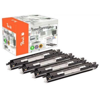 Peach  Spar Pack Tonermodule kompatibel zu HP Color LaserJet Pro CP 1027 nw