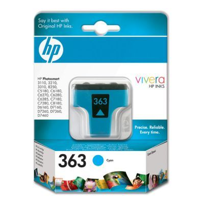 Original  Tintenpatrone cyan HP PhotoSmart D 7400 Series