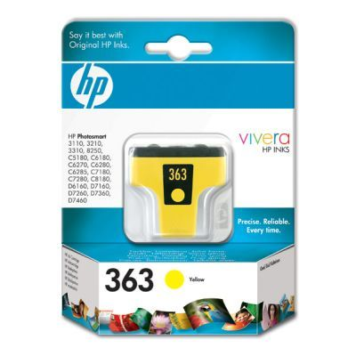 Original  Tintenpatrone gelb HP PhotoSmart D 7400 Series
