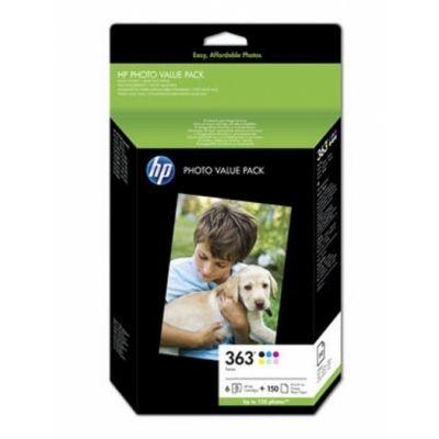Original  Bundle Tinte color, 6-farbig, HP PhotoSmart D 7400 Series