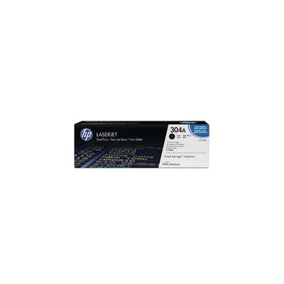 Original 2  Tonerpatronen schwarz HP Color LaserJet CP 2027