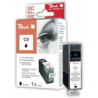 Peach  Tintenpatrone schwarz kompatibel zu Canon Multipass F 60