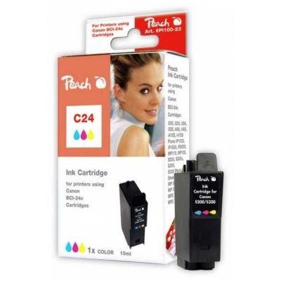 Peach  Tintenpatrone color kompatibel zu Canon Smartbase MPC 190