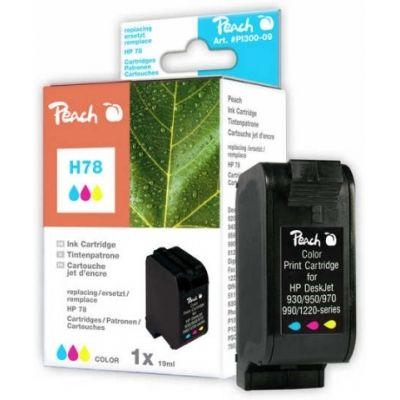 Peach  Druckkopf color kompatibel zu HP OfficeJet G 85 XI