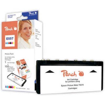 Peach  Foto Pack kompatibel zu Epson Picturemate PM 500