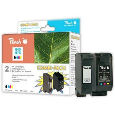 Peach  Spar Pack Druckköpfe kompatibel zu HP OfficeJet G 85 XI