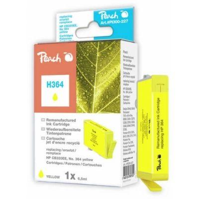 Peach  Tintenpatrone gelb kompatibel zu HP PhotoSmart Premium Touchsmart Web