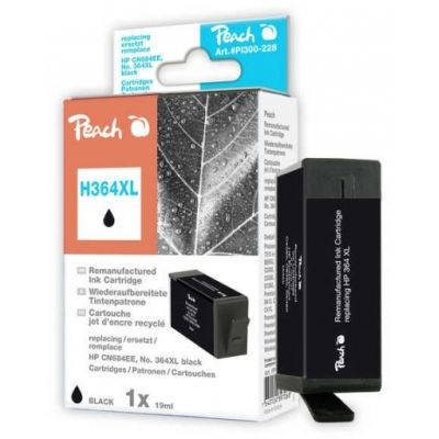Peach  Tintenpatrone schwarz kompatibel zu HP PhotoSmart Premium Touchsmart Web