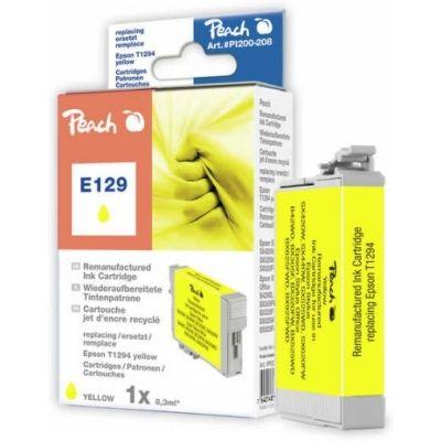 Peach  Tintenpatrone gelb kompatibel zu Epson WorkForce 525