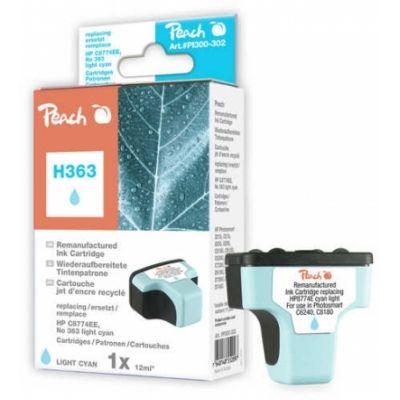 Peach  Tintenpatrone cyan light kompatibel zu HP PhotoSmart D 7400 Series
