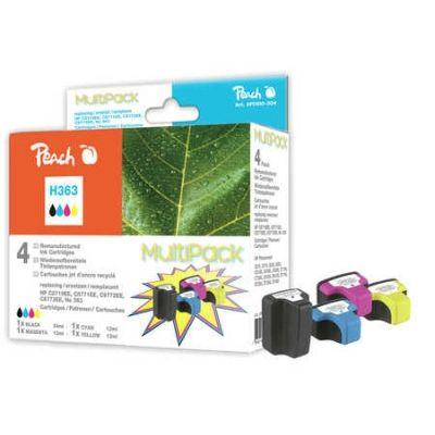 Peach  Spar Pack Tintenpatronen kompatibel zu HP PhotoSmart D 7400 Series