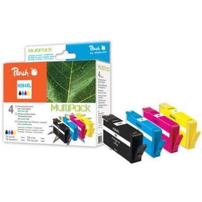 Peach  Spar Pack Tintenpatronen kompatibel zu HP PhotoSmart Premium Touchsmart Web