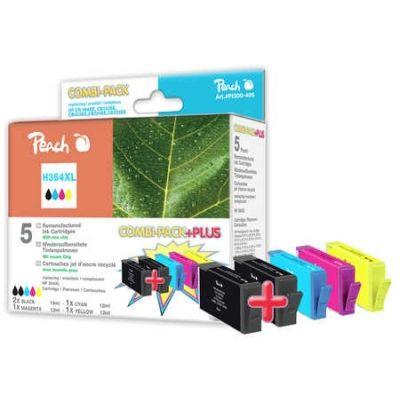 Peach  Spar Pack Plus Tintenpatronen kompatibel zu HP PhotoSmart Premium Touchsmart Web